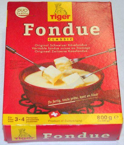 Käsefondue fertig - Tiger Fondue 800 gramm | Online Kaufen ...