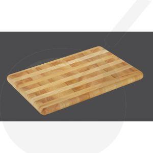 Tranchierbrett 51 x 35 x 3,5 cm , Gummibaumholz