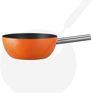 Spring Fondue Caquelon Alu Induktion Orange