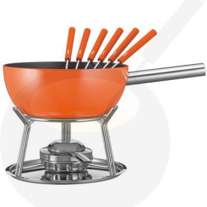 Käse-fondue set Spring Alu Induktion Orange