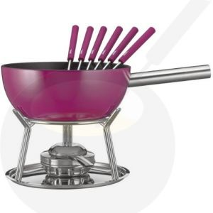 Käse-fondue set Spring Alu Induktion Lila