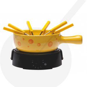 Elektrisches Käsefondue-Set - Käsegelb