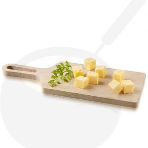 Käsebrett aus Buchenholz mit Griff