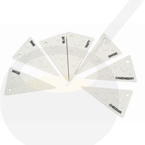 Servierplatten Käse sortiert Porzellan - Salt and Pepper