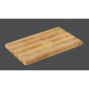 Tranchierbrett 45 x 30 x 2,5 cm , Gummibaumholz