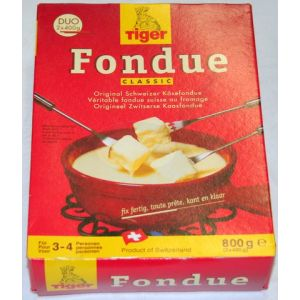 Käsefondue fertig - Tiger Fondue 800 gramm
