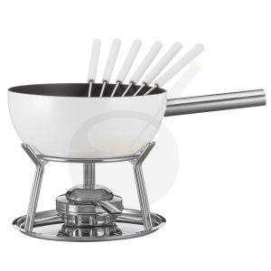 Käse-fondue set Spring Alu Induktion Weiß